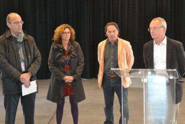 Discours du maire de Montbonnot, Pierre Beguery
